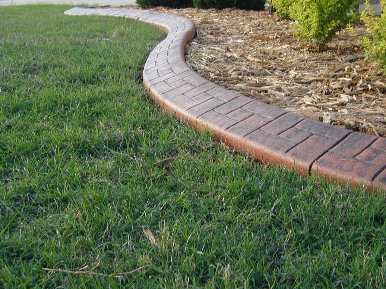 Our curbing is designed to fit any specific budget and taste.